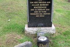 Allan Robert Mackenzie 2010