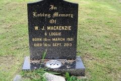 W J Mackenzie 2013