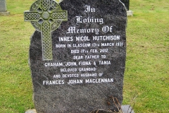 Innes Nicol Hutchison 2012
